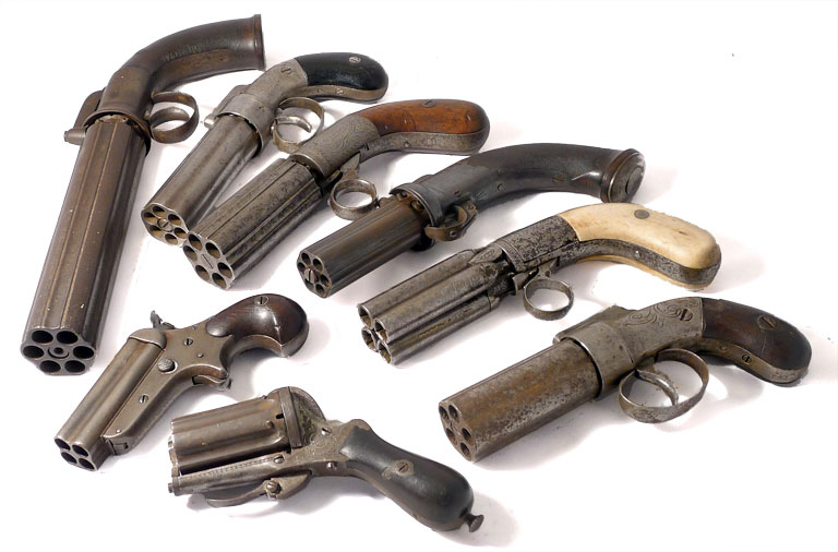 Pepperbox Pistols